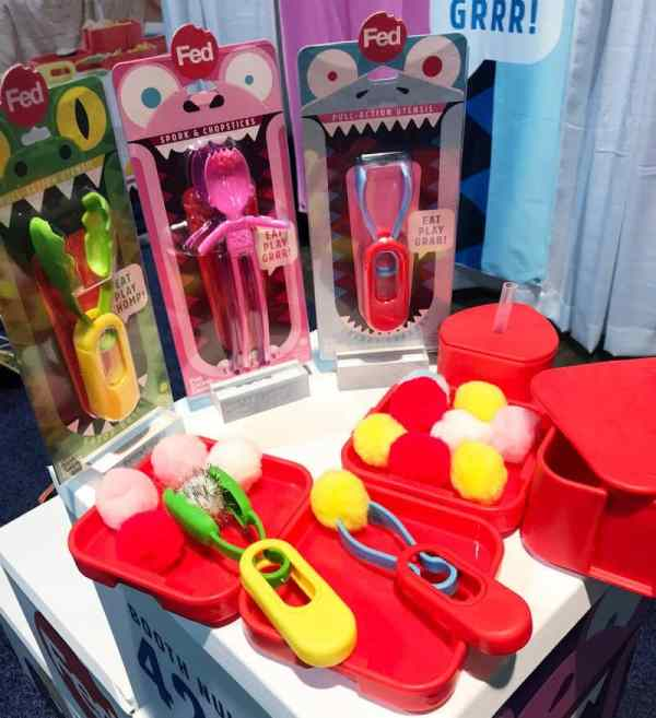 FED Pull Action Utensil | 65 Top Baby Products for 2018 from the ABC Kids Expo