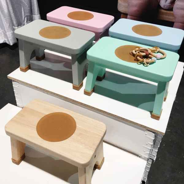 Hevea Foot Stool | 65 Top Baby Products for 2018 from the ABC Kids Expo