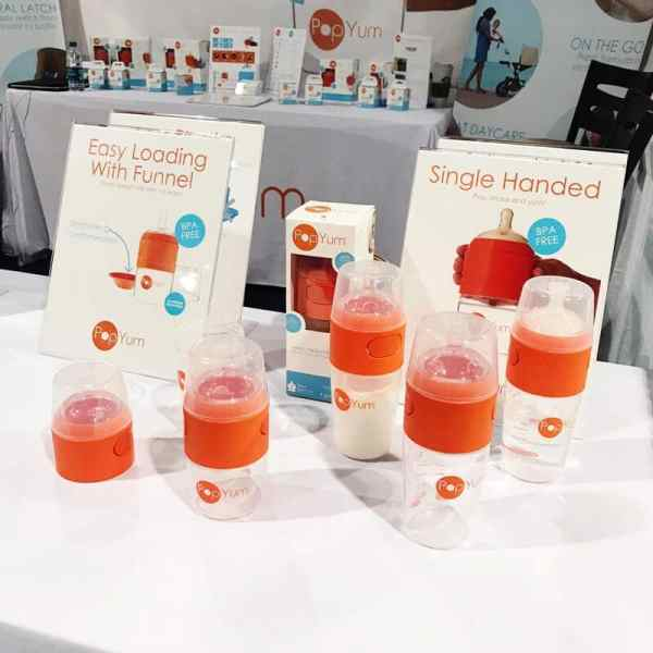 PopYum Formula Bottle | 65 Top Baby Products for 2018 from the ABC Kids Expo