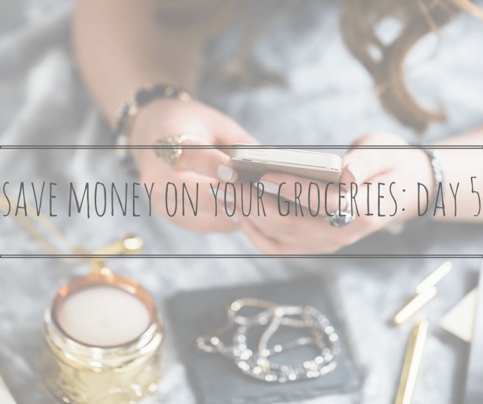 save money on your groceries day 5