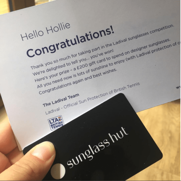sun glass hut voucher