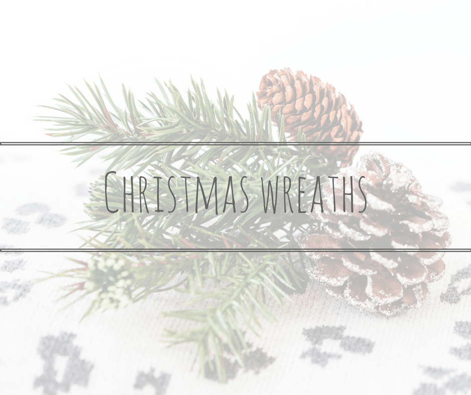 christmas wreath title