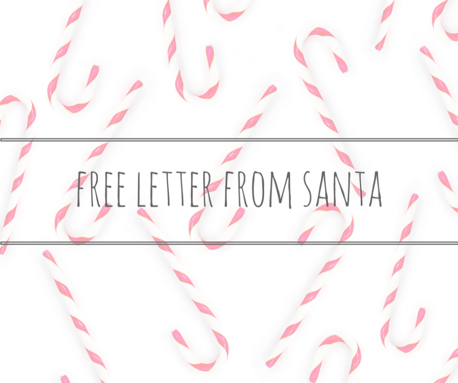 free letter from santa title