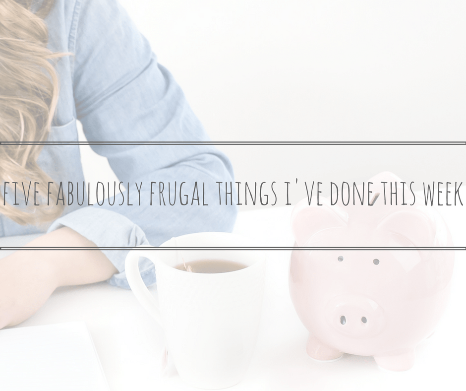 five fabulously frugal things