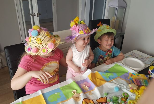 budget easter bonnet idea