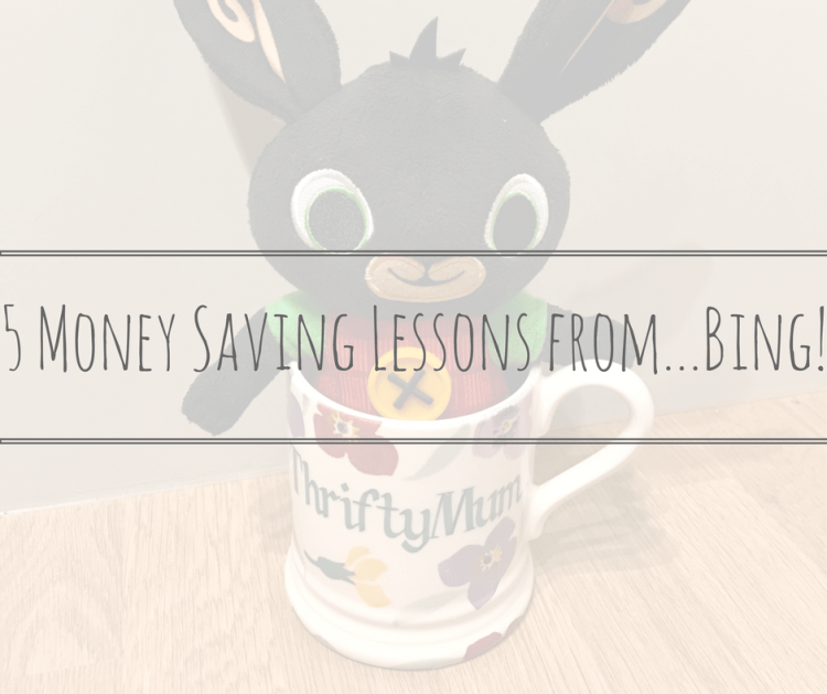Money Saving Lessons from Bing