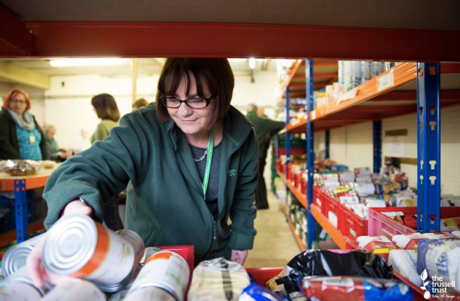 stockpiling lessons from a food bank