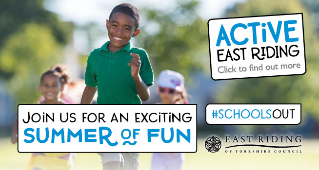 active east riding summer of fun ad