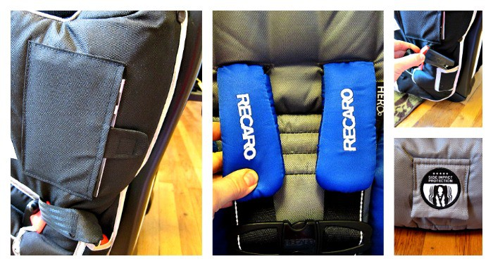 RECARO Performance SPORT Combination Harness to Booster Review