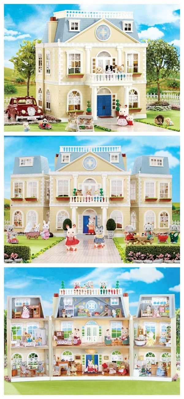 Check Out The Calico Critters Manor And A Townhouse Gift