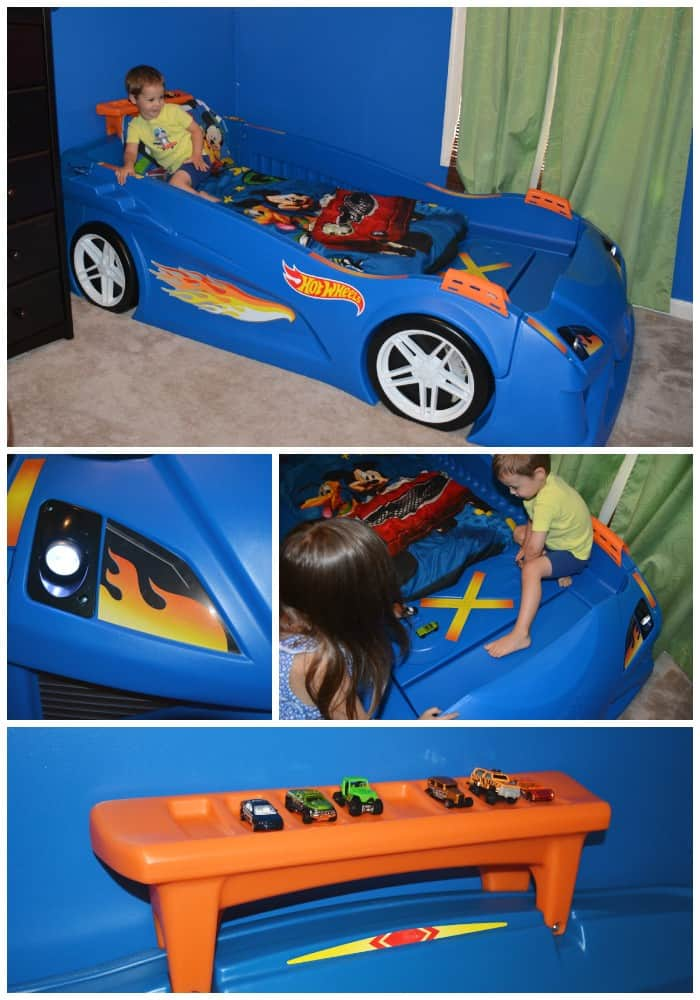 Features of the Hot Wheels Bed
