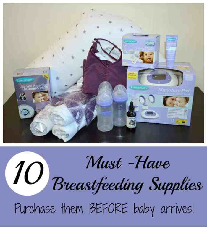 10 Breastfeeding Supplies You Should Have BEFORE Baby Arrives