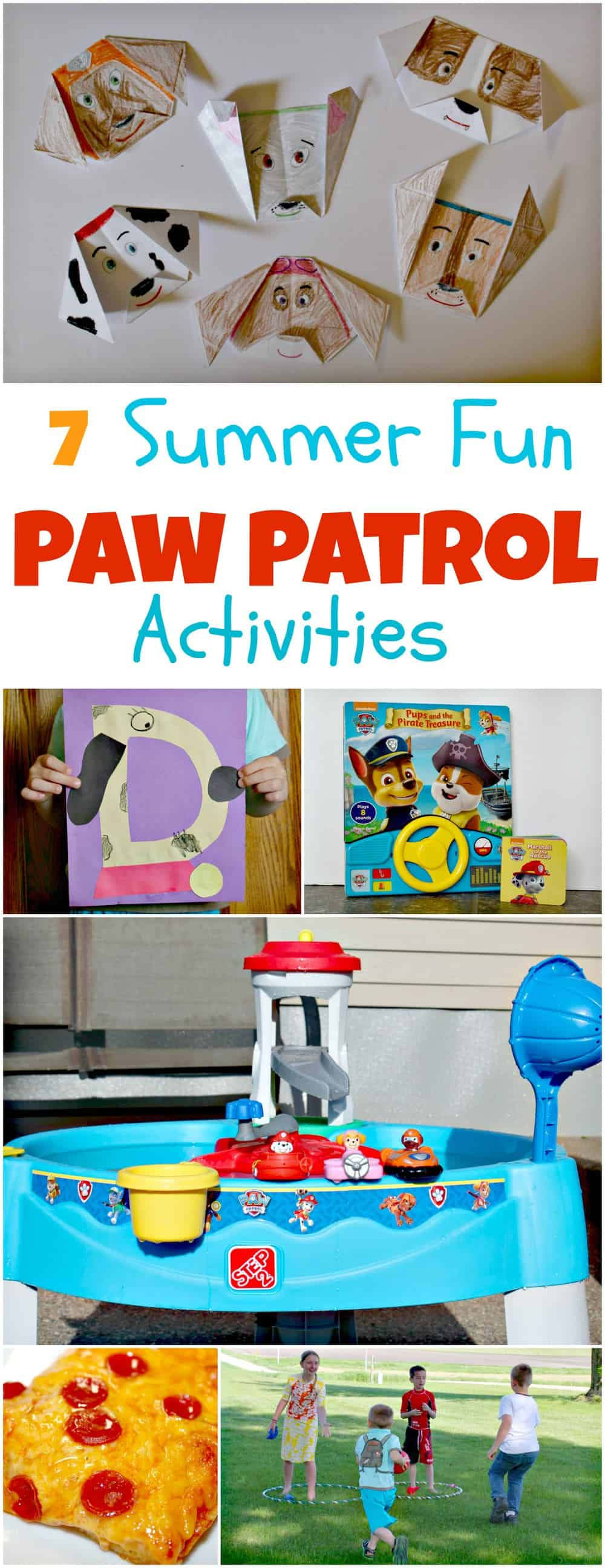 fun Paw Patrol activities