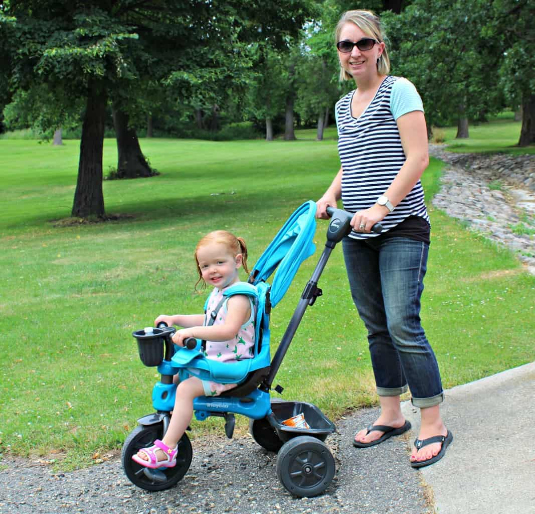 Get Your Toddler Outside With A Scavenger Hunt & The Joovy Tricycoo 4.1. Now that Summer is in full swing, now's the perfect time to find some exciting ways to get the kids outdoors. It's easy for big kids to stay entertained as they are typically quite independent. However, if you're looking for a fun activity for your toddler, head outside together and go on this fun Toddler Scavenger Hunt! Take the Joovy Tricycoo along as it's a A tricycle that grows with your child. Quickly change from a parent assisted ride to a kid powered tricycle. {Thrifty Nifty Mommy}