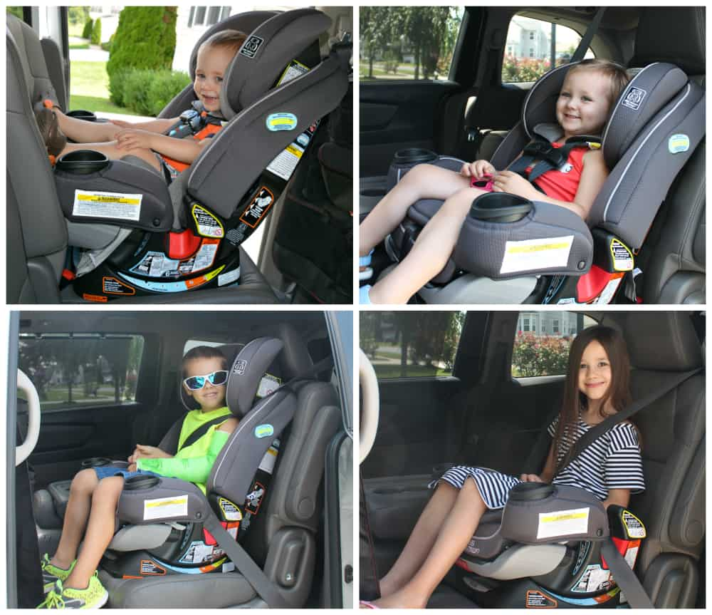 Graco 4Ever Extend2Fit 4-in-1 Car Seat Review - Thrifty Nifty Mommy