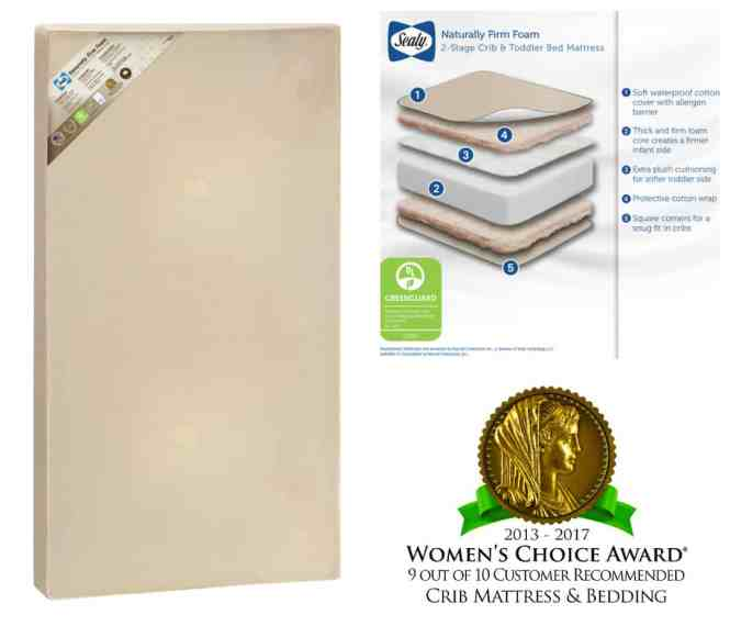 I Was Delighted To Find This Sealy Natural Firm 2 Stage Foam Mattress Available At For Under 90 It Received The Greenguard Gold Certification