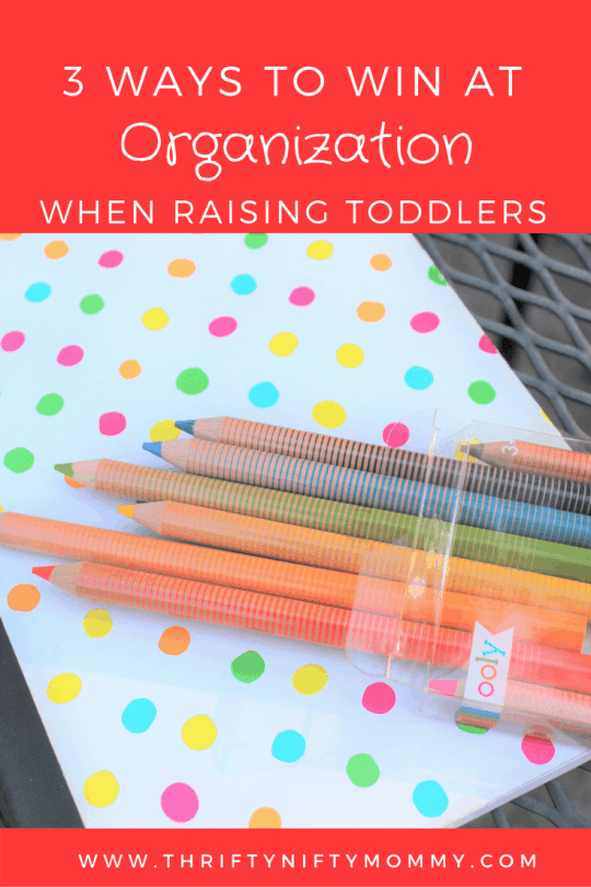 Raising toddlers often has you feeling in a constant state of chaos. Mastering a few organization tricks can bring some peace in your life.