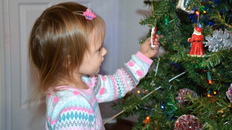 We Set Up Our Christmas Tree Already {Because It's the BEST Time to Be a Kid!}