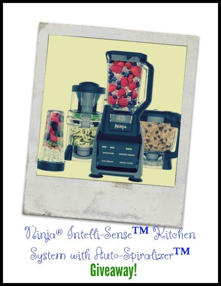 Ninja Intelli-Sense Kitchen System with Auto-Spiralizer Giveaway