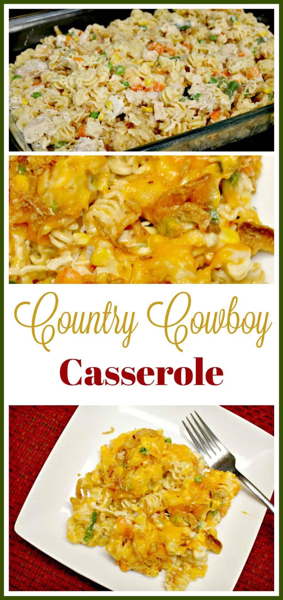 Country Cowboy Casserole Hotdish