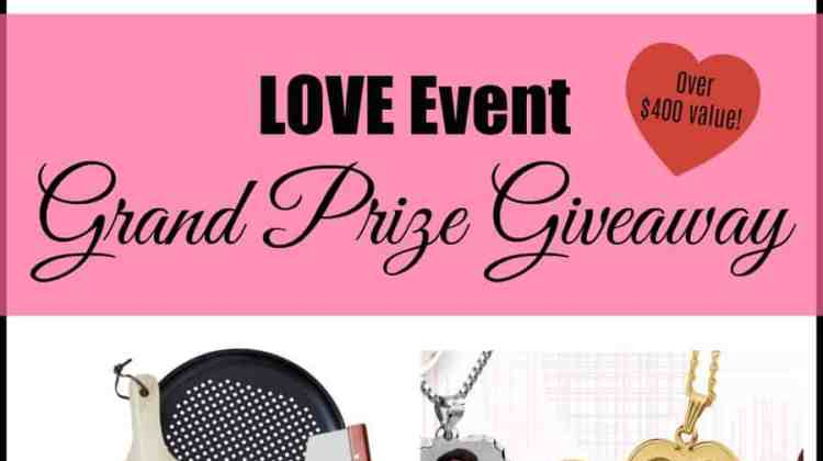 LOVE Event ~ One Winner Take All BIG Giveaway!