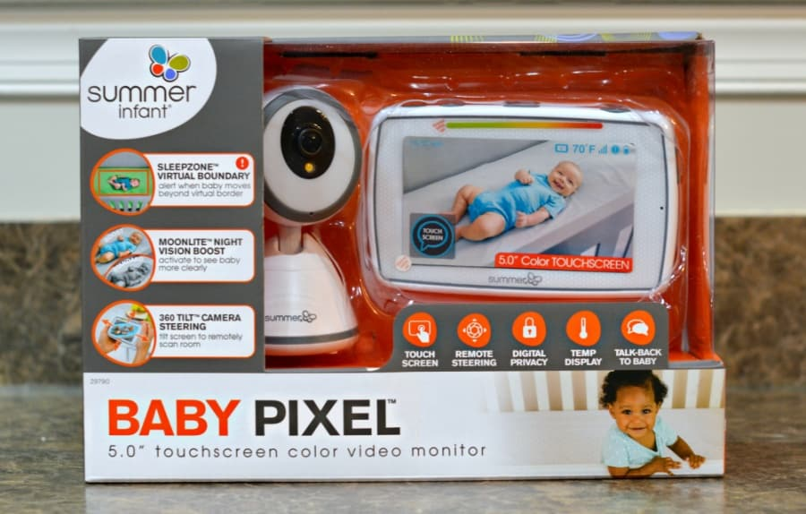 Summer Infant Baby Pixel Touchscreen Color Video Monitor