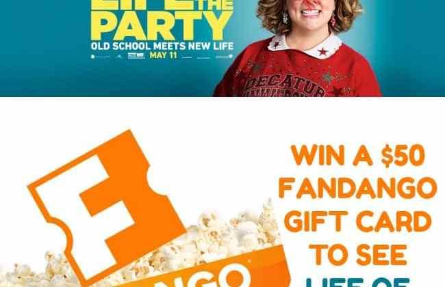 Win a $50 Fandango Gift Card!