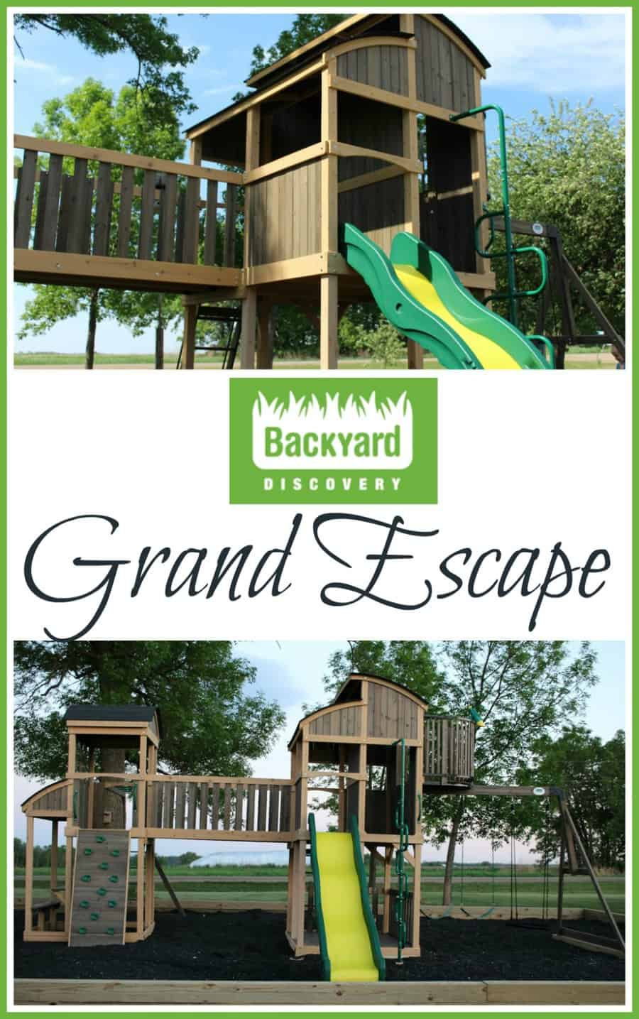 Ultimate Backyard With Backyard Discovery Grand Escape