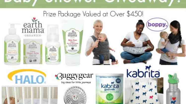 Ultimate Online Baby Shower Giveaway!