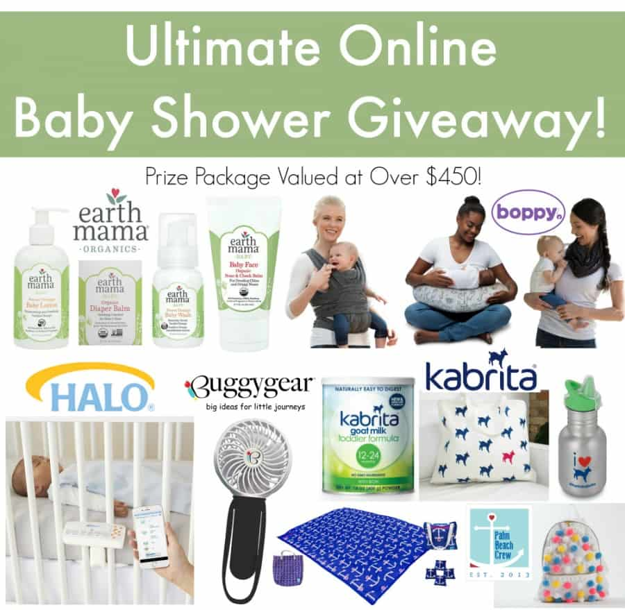 Ultimate Online Baby Shower Giveaway Thrifty Nifty Mommy