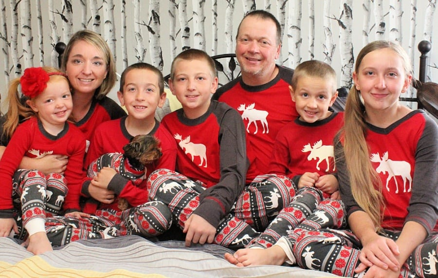 Family Christmas Traditions {+ Lazy One Matching Family Pajamas Review}