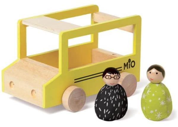 Manhattan Toy Company MIO SCHOOL BUS + 2 PEOPLE