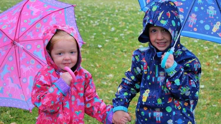 20 Outdoor Rainy Day Activities For Kids {+ Stephen Joseph Giveaway}