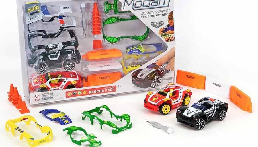 Modarri Cars Delux Rescue Pack