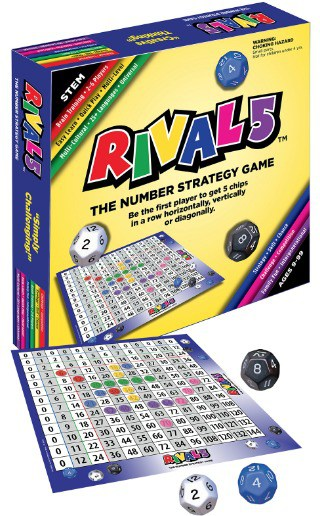 Rival 5 Educational Number Strategy Game