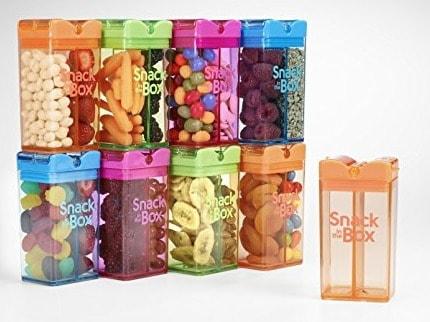 Snack in the Box Eco-Friendly Reusable Snack Box Container by Precidio Design