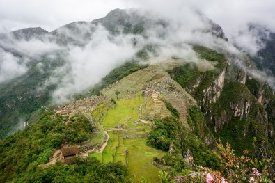 View from Machu Picchu Mountain (Montana Machu Picchu)