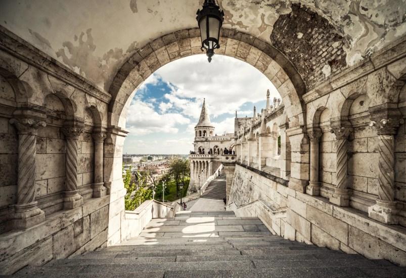 Budapest walking