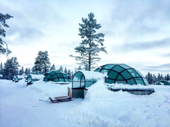 Glass Igloo Finland