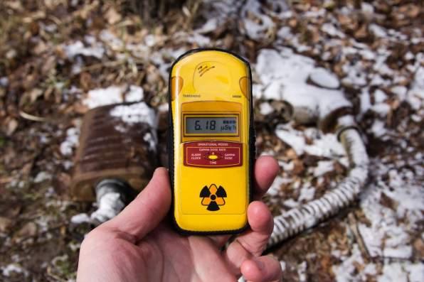 Chernobyl dosimeter radiation