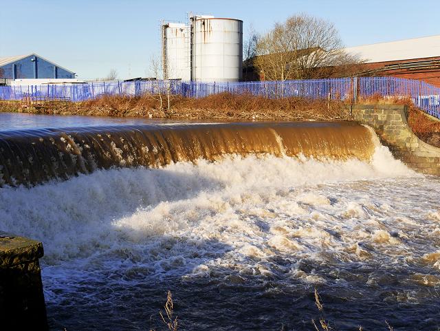 Swollen Dam