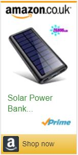 Solar Panel charger power bank phone charger