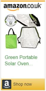 Portable Solar oven sun cooker bbq grill bake heat