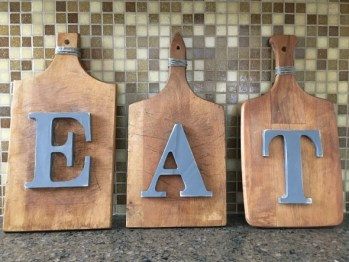 Thrifty Kitchen Decorating Cutting Boards