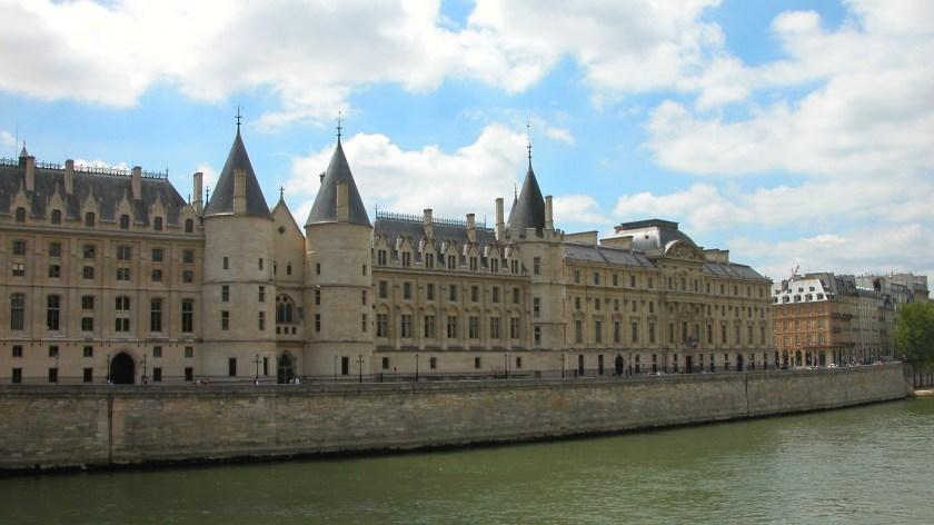 Crossing the Seine River