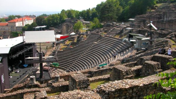 The Roman-era Theatre on the Fourvière hill