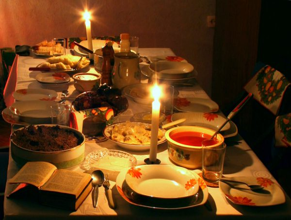 Polish Christmas Eve Dinner