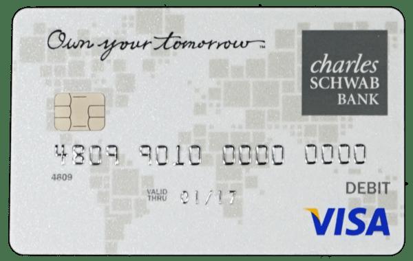 Charles Schwab debit card