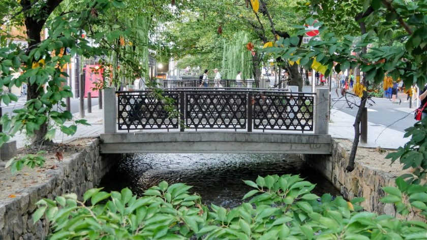 Kyoto little bridges
