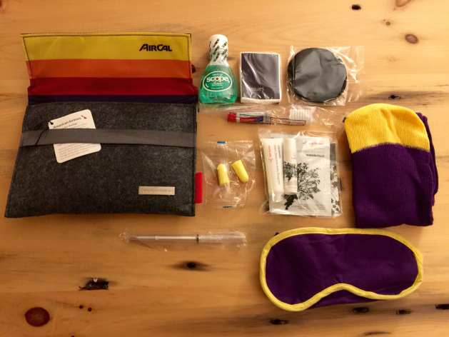 AA thrifty traveler amenity kit